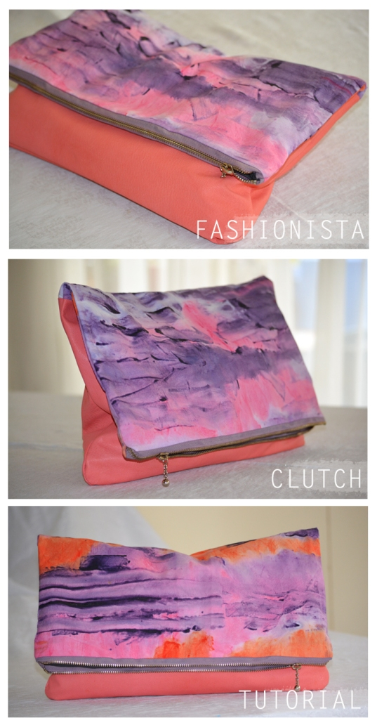 DIY clutch tutorial