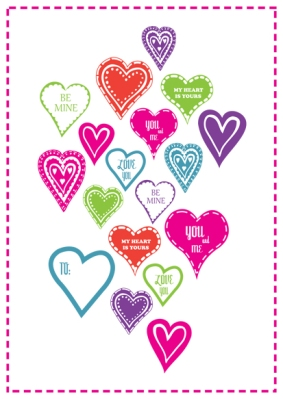 valentine day printables